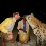 Feeding Hyenas in Harar, Ethiopia – MOUTH TO MOUTH