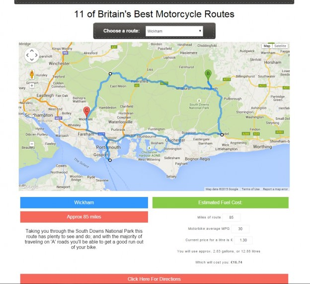 Finding the best motorcycle roads in the UK | One Step 4Ward