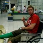 The Night I Should Have Died – Breaking my Leg in Thailand,   OUCH