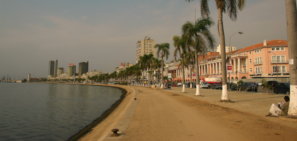 Luanda waterfront