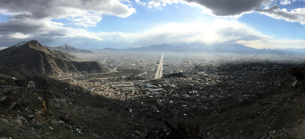 TV Hill kabul afghanistan