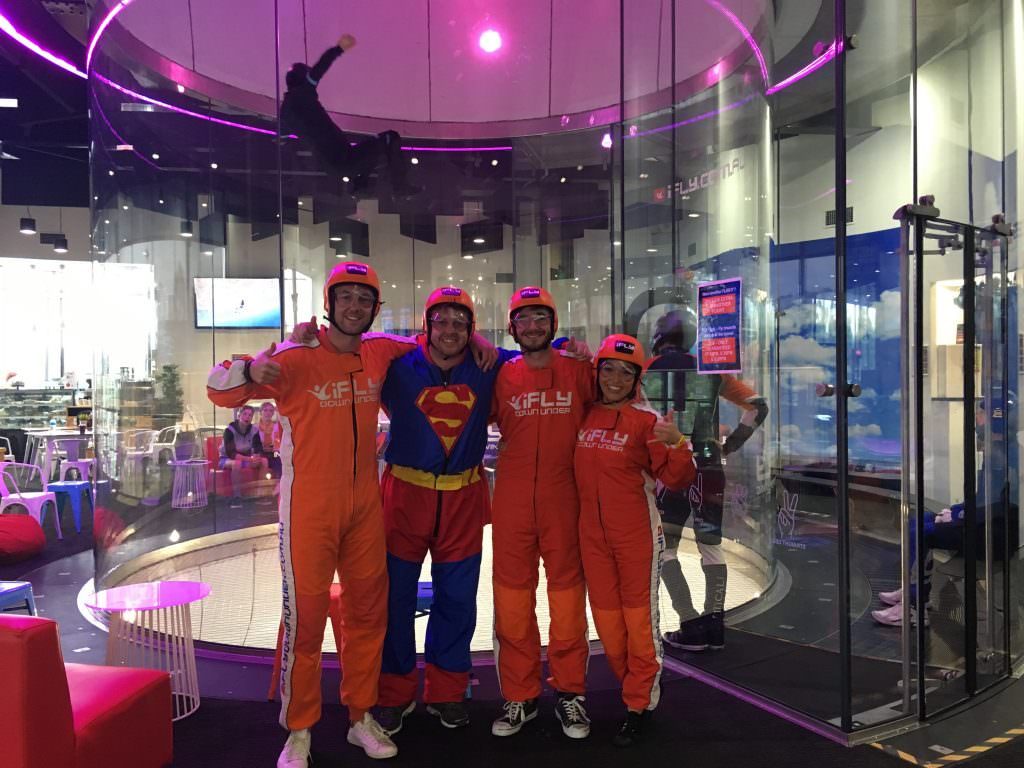 indoor skydiving sydney australia