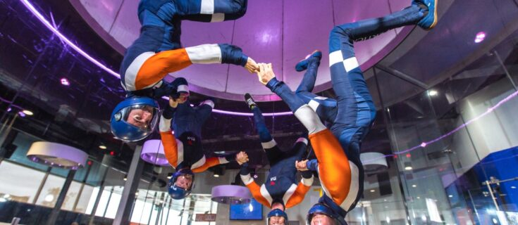 Sydney indoor skydiving