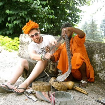 Snake Charmers in Manali