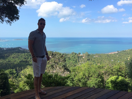 An amazing view in Koh Samui