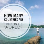 How many countries in the world in 2020?