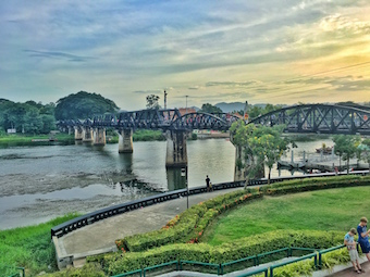 bridge over the river kwai kanchanaburi