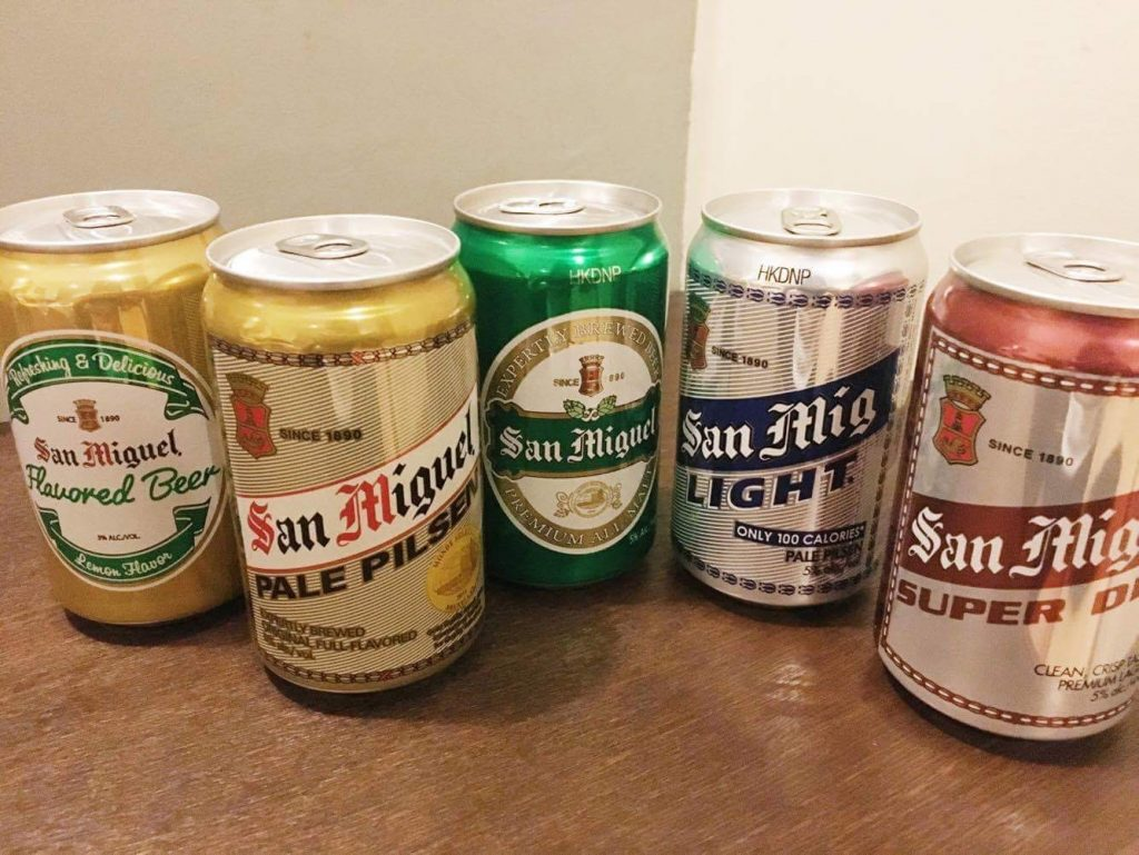 San Miguel,   Philippine's national beer