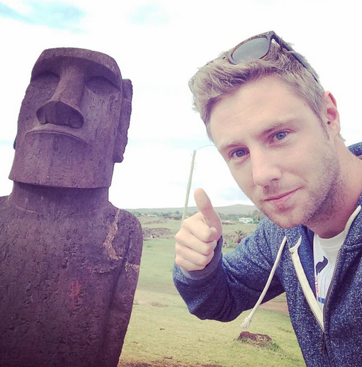 On the way to every country in the world. Easter Island,   Chile 2014