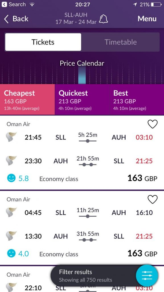 momondo review; the best flight comparison site available?
