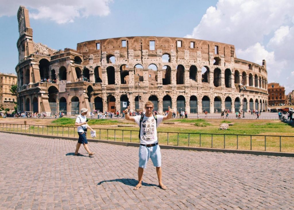 johnny ward the colosseum