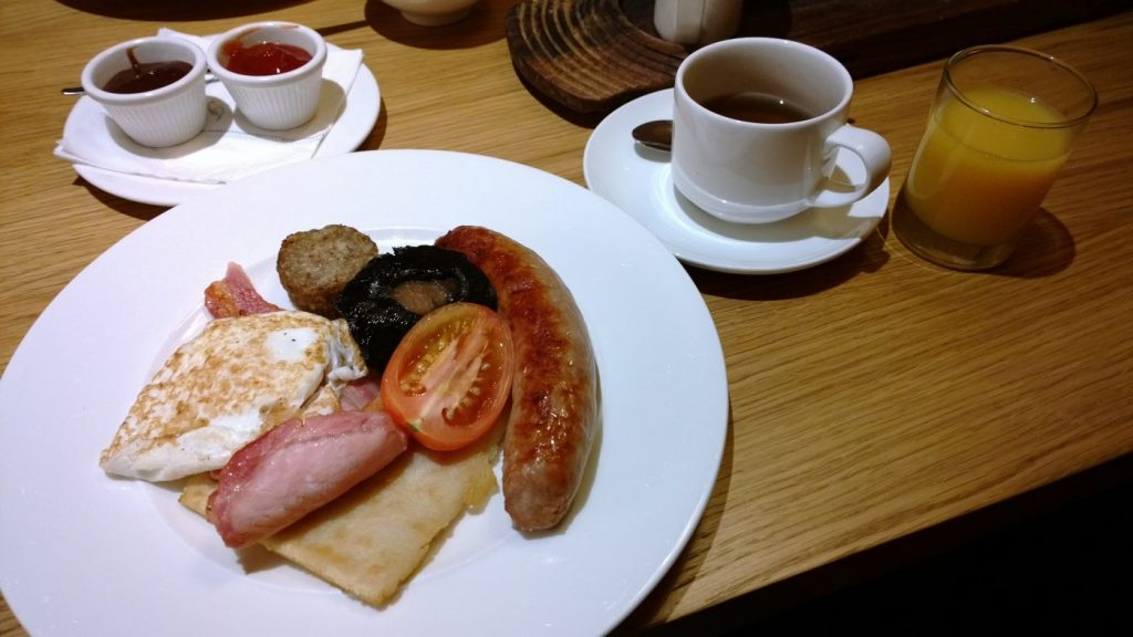Fitzwilliam hotel irish breakfast