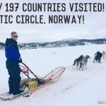 Husky Dog Sledding in Norway