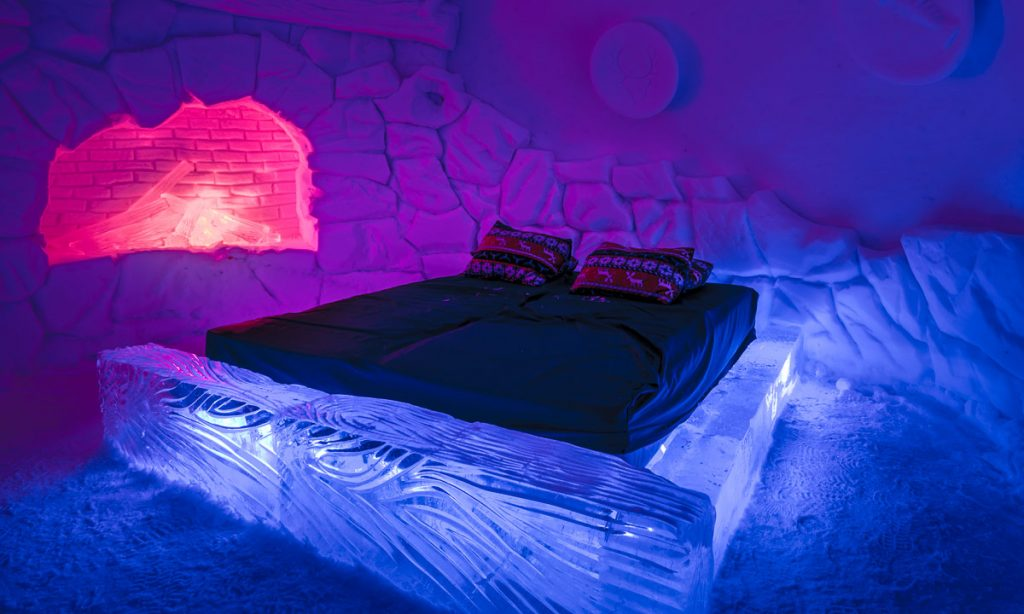 Kirkenes Snow Hotel Room