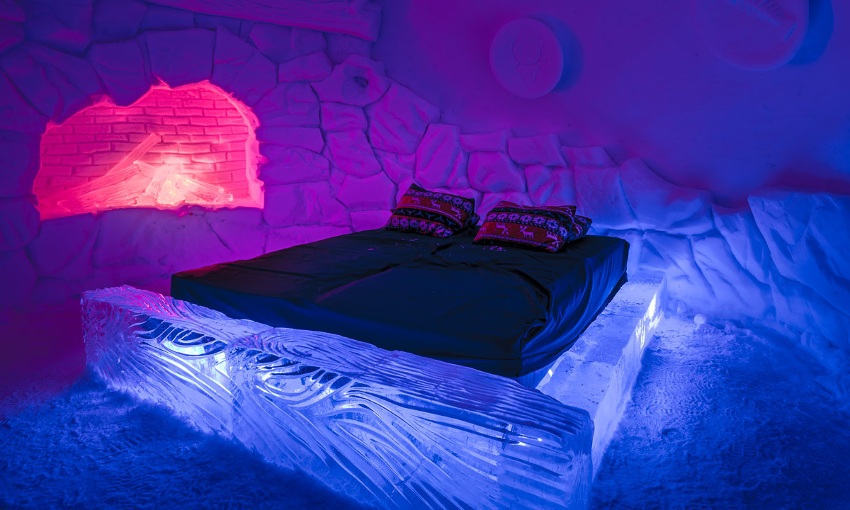 Snow Hotel in Norway