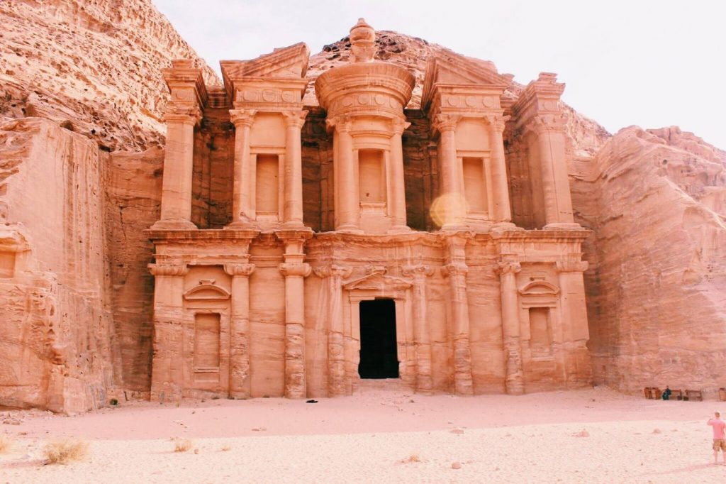 The Monastery in Petra