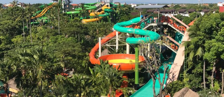 taking the family to Waterbom Bali