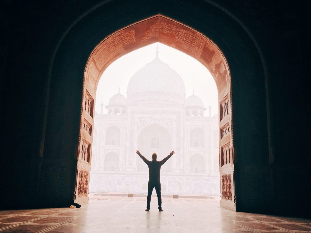 Visiting the Taj Mahal in Agra