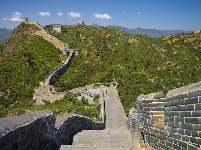Visiting the Great Wall of China from Beijing, to Jinshanling