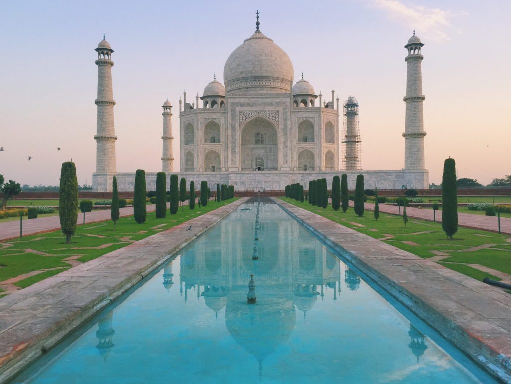 Visiting the Taj Mahal in Agra, India: