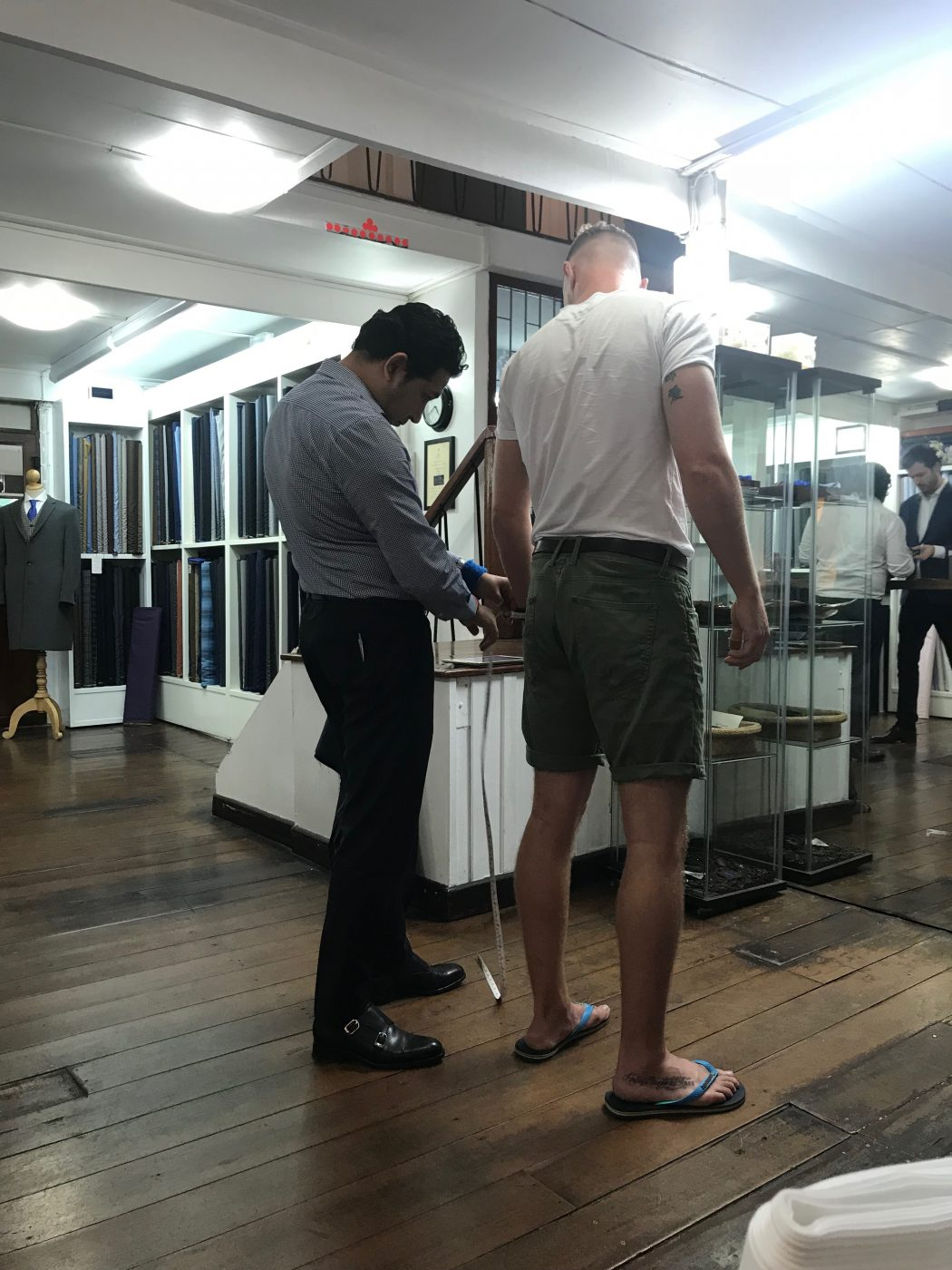Fitting 1 at Tailor on Ten