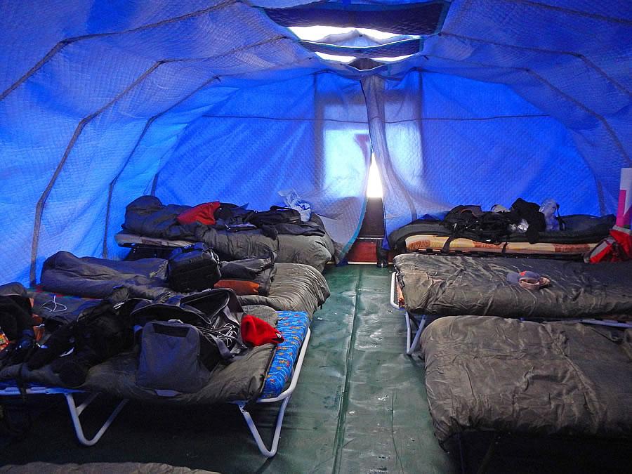 Accomodation at the North Pole Marathon