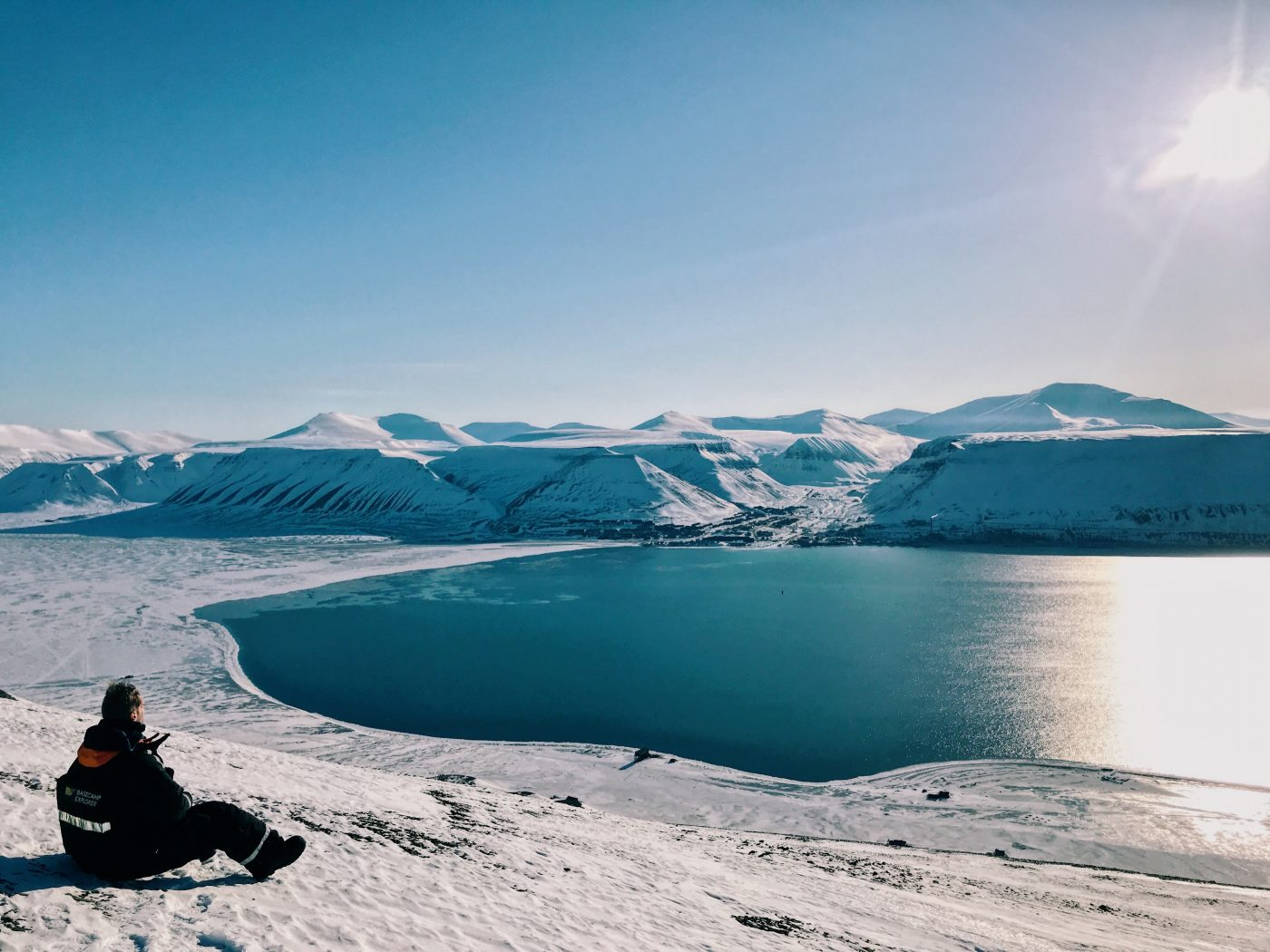 longyearbyen viewpoint