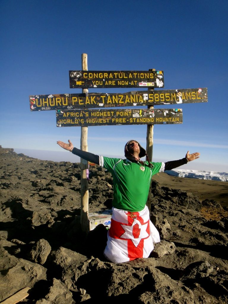 At the Summit of Kilimanjaro