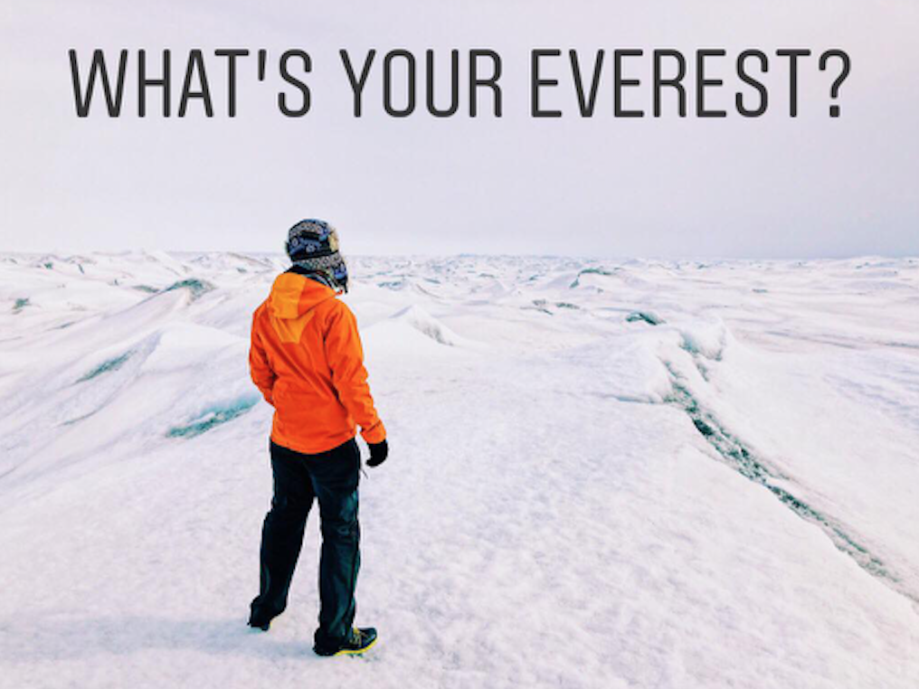 What's your everest