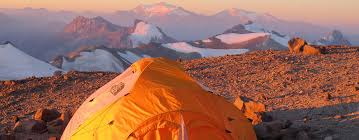Sleeping on Aconcagua
