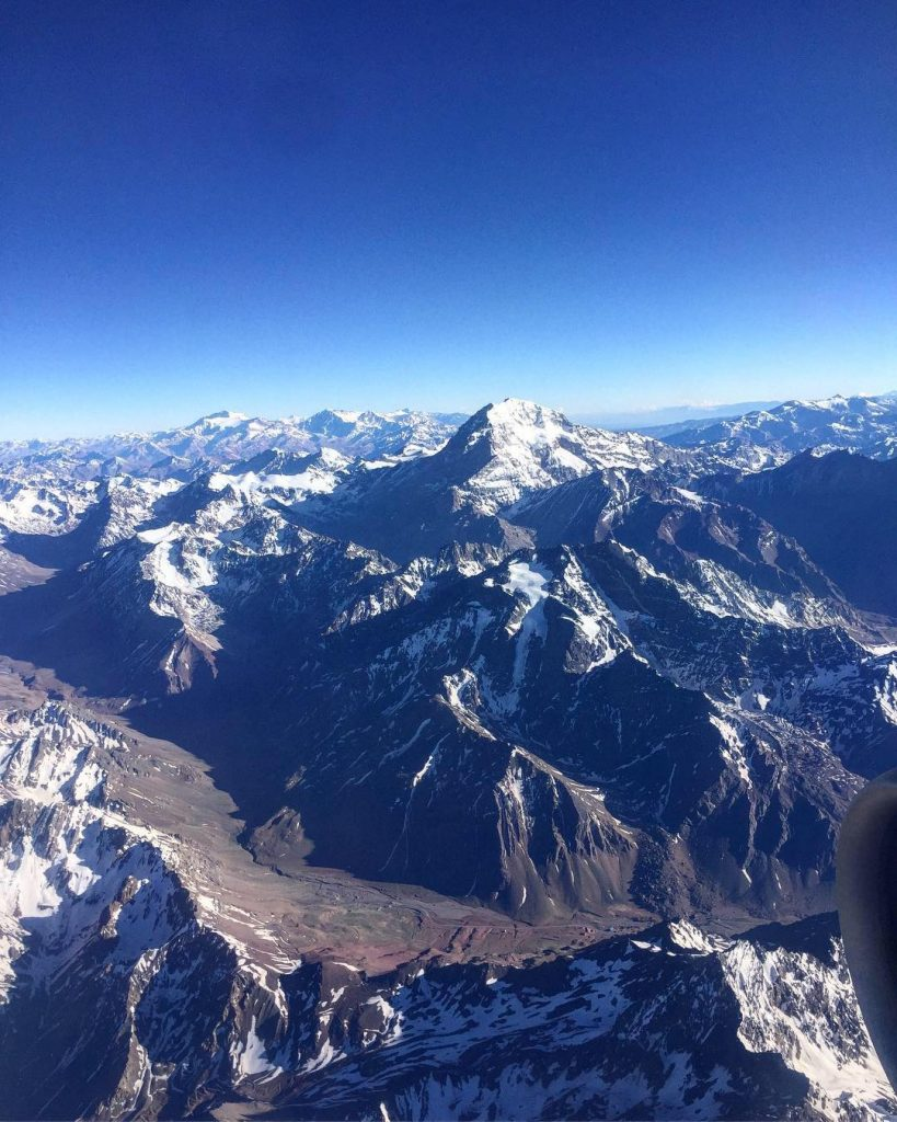Aconcagua from the plane