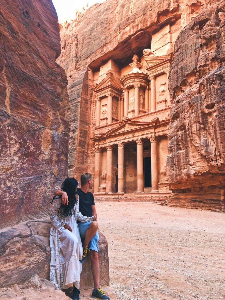 Best viewpoint for Petra