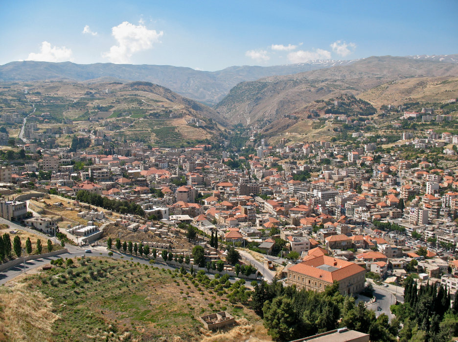 Beqqa Valley, Baalbek