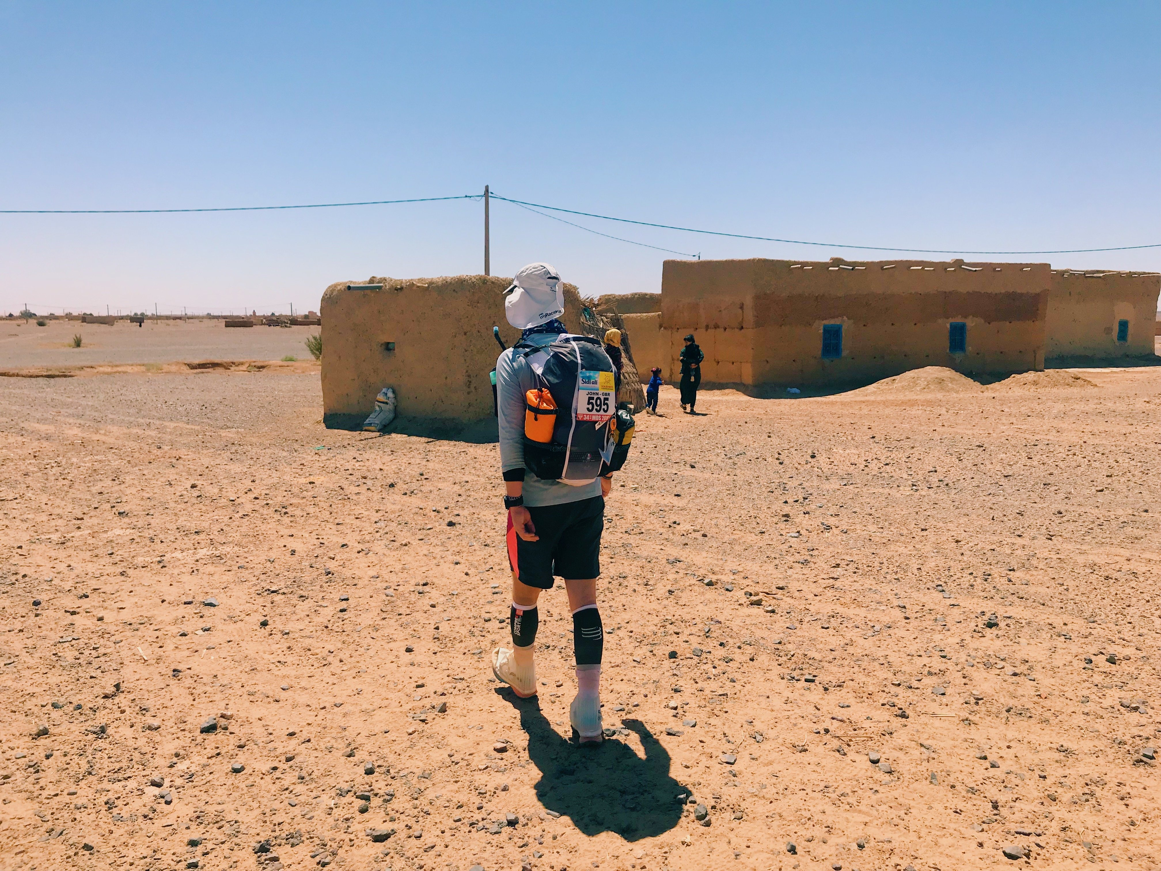 A village during Marathon Des Sables