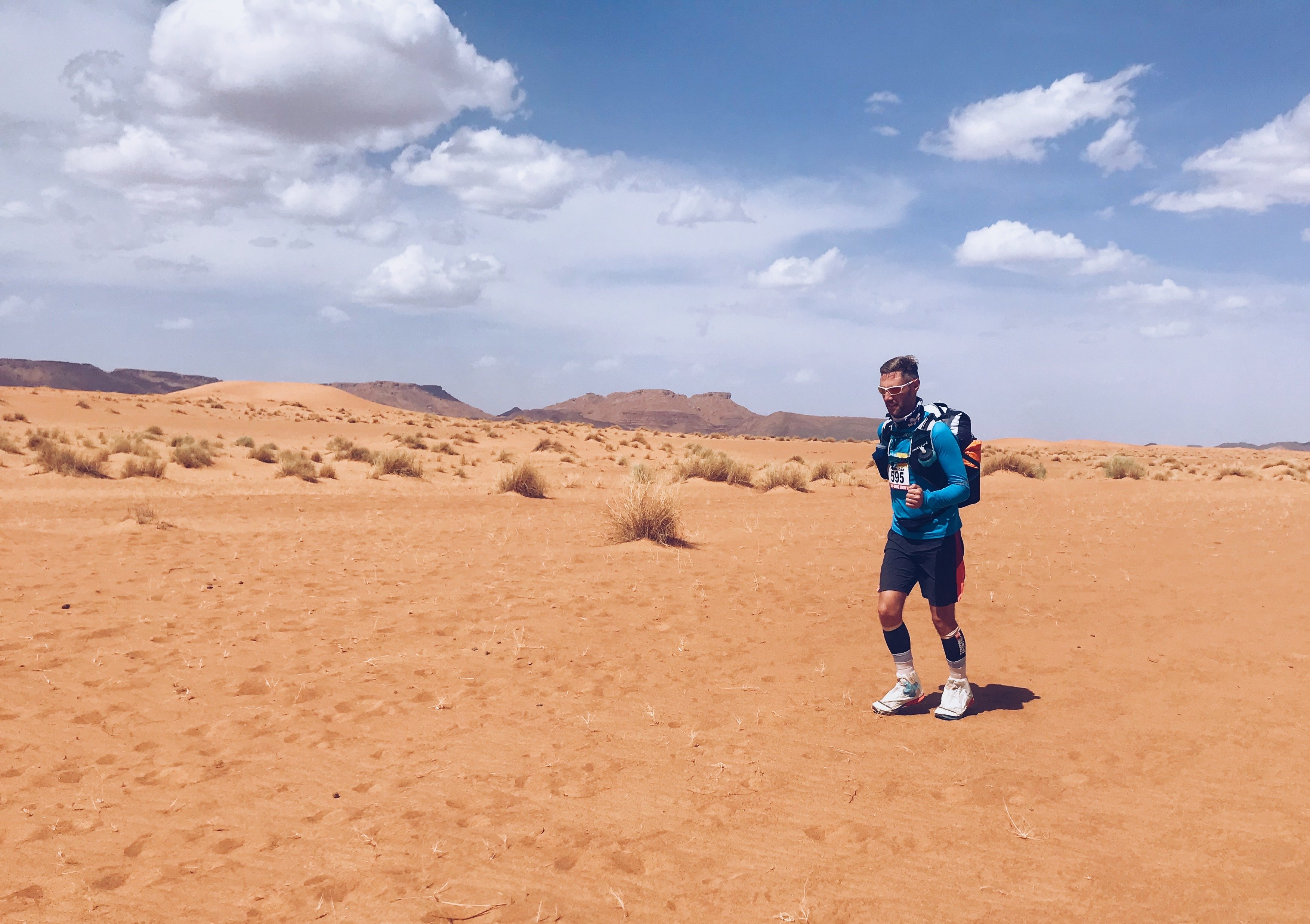 Running the Marathon Des Sables