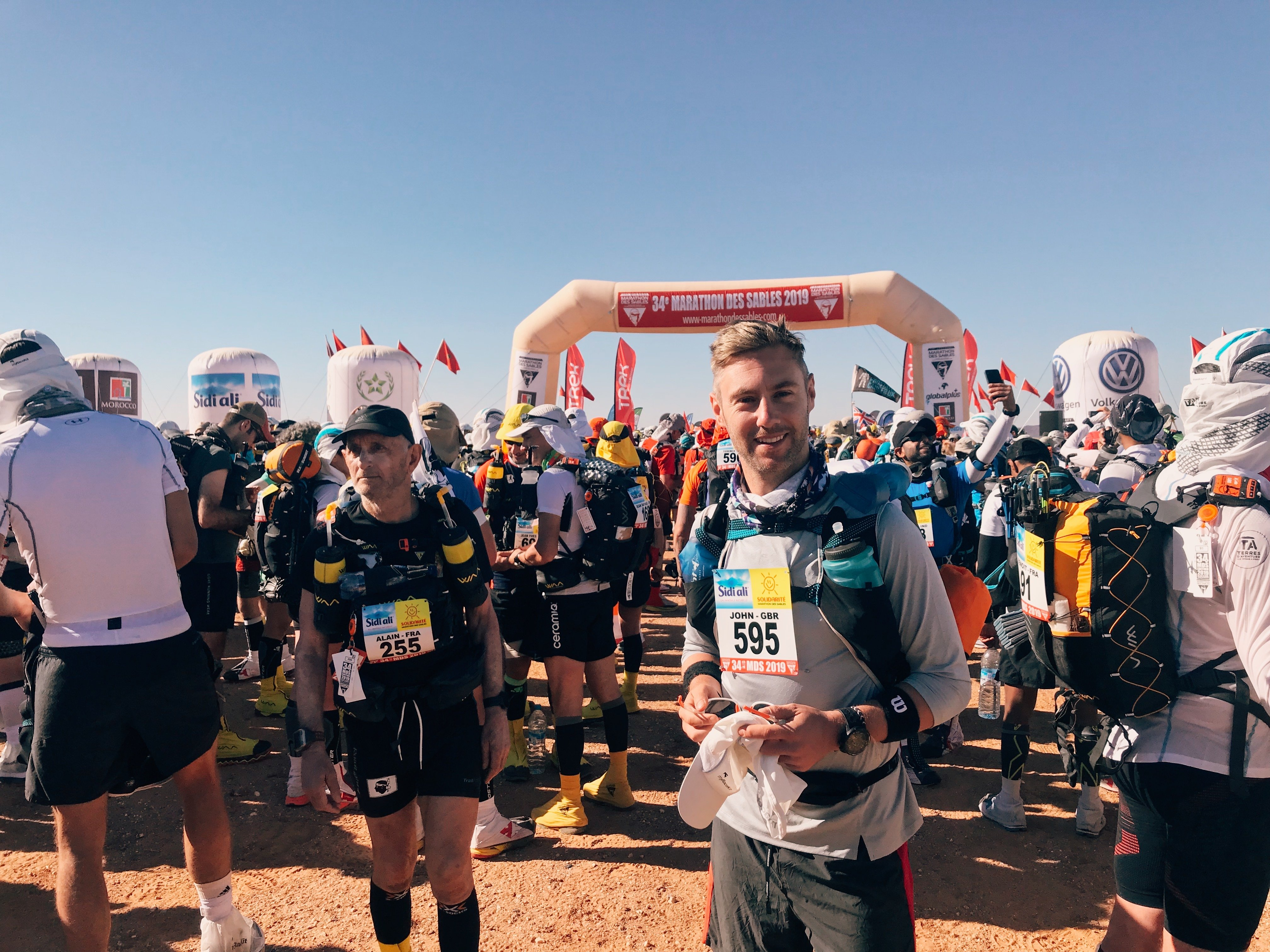 Day 1 Marathon Des Sables