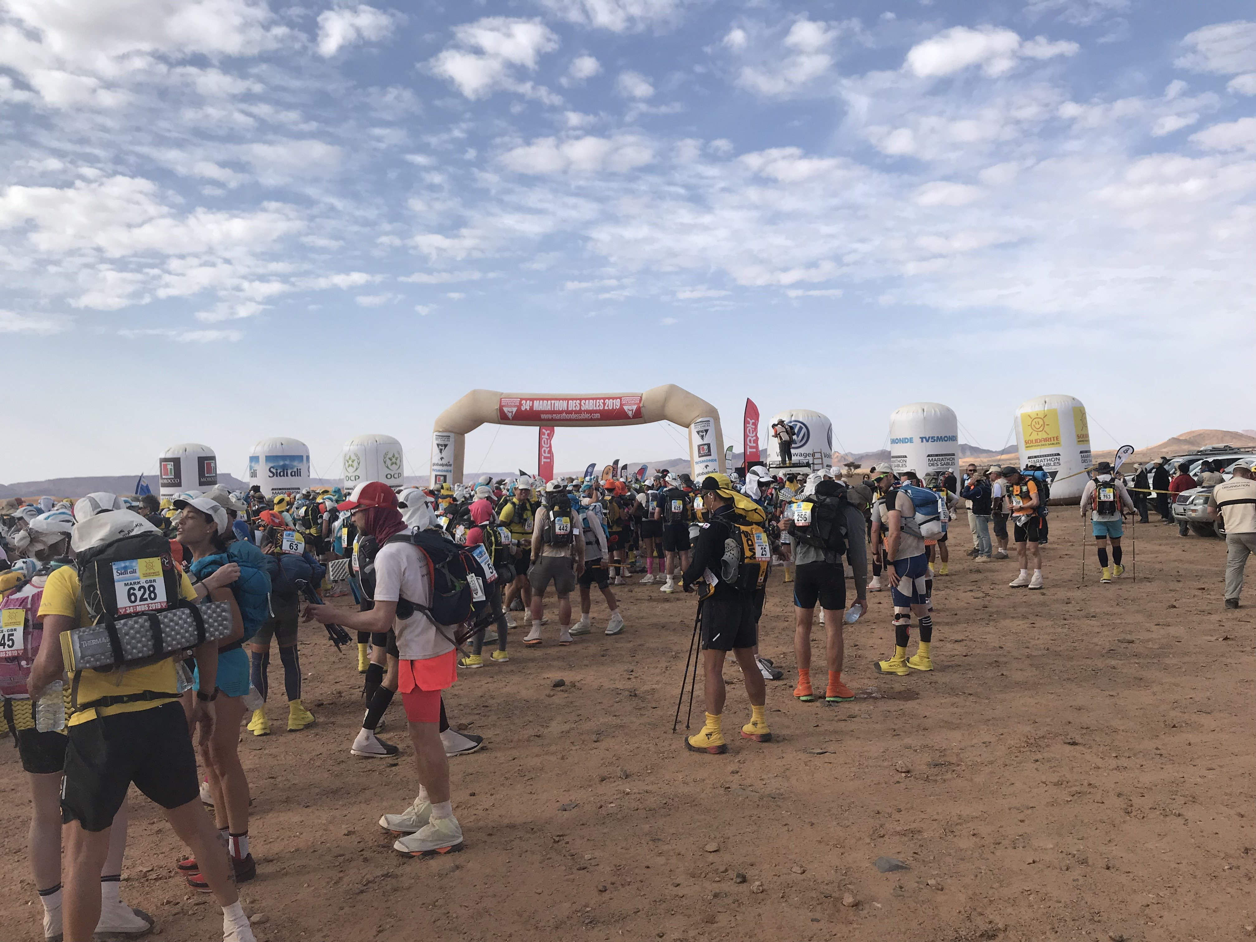 Marathon Des Sables starting point