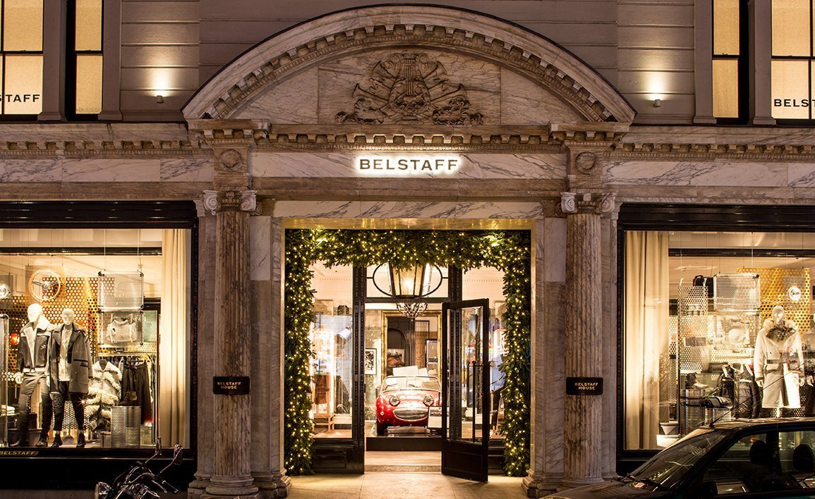 Belstaff Store, Bond St., London