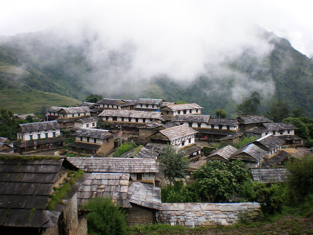 Ghandruk village on the Poon Hill Trek