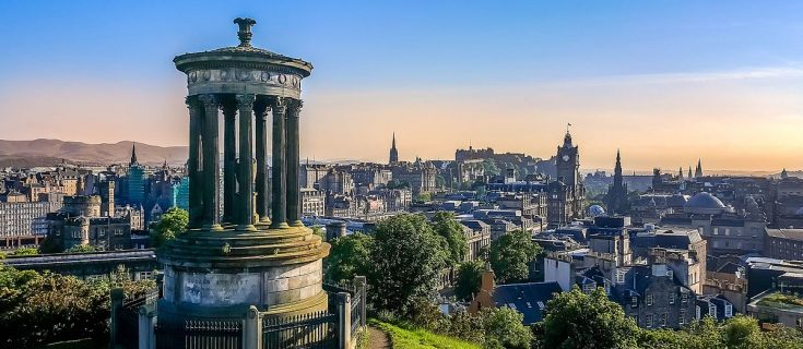The Edinburgh City Skyline