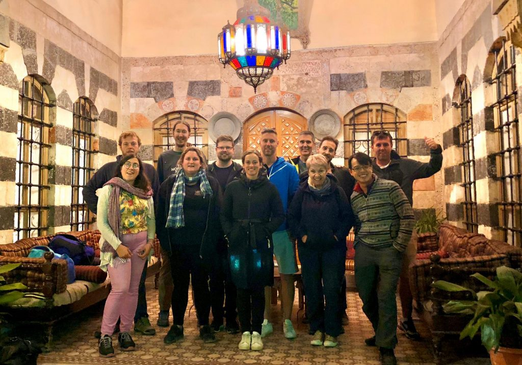 My second tour group in Syria