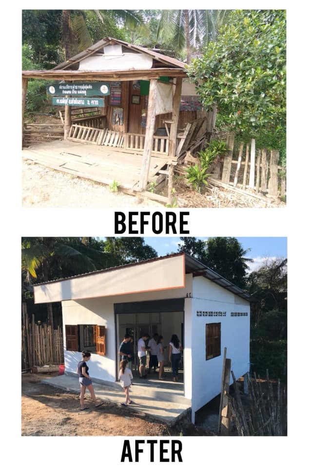 Malaria clinic and classroom for the Burmese community