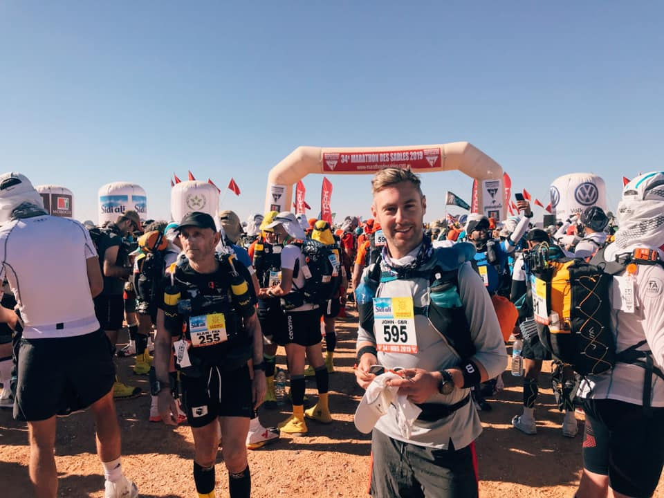 the Marathon Des Sables