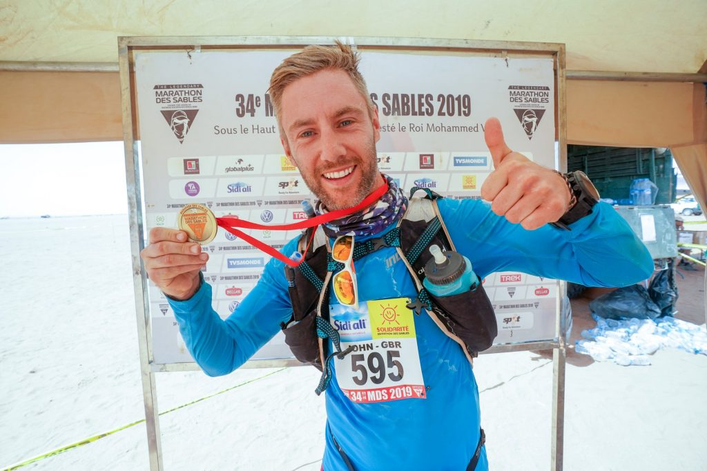 Finishing Marathon Des Sables