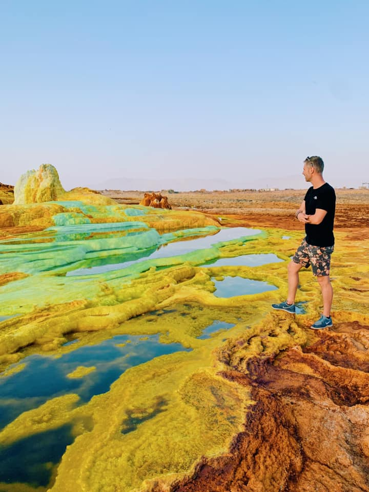 How to get to the danakil depression
