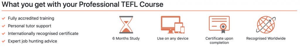 Best Online TEFL courses