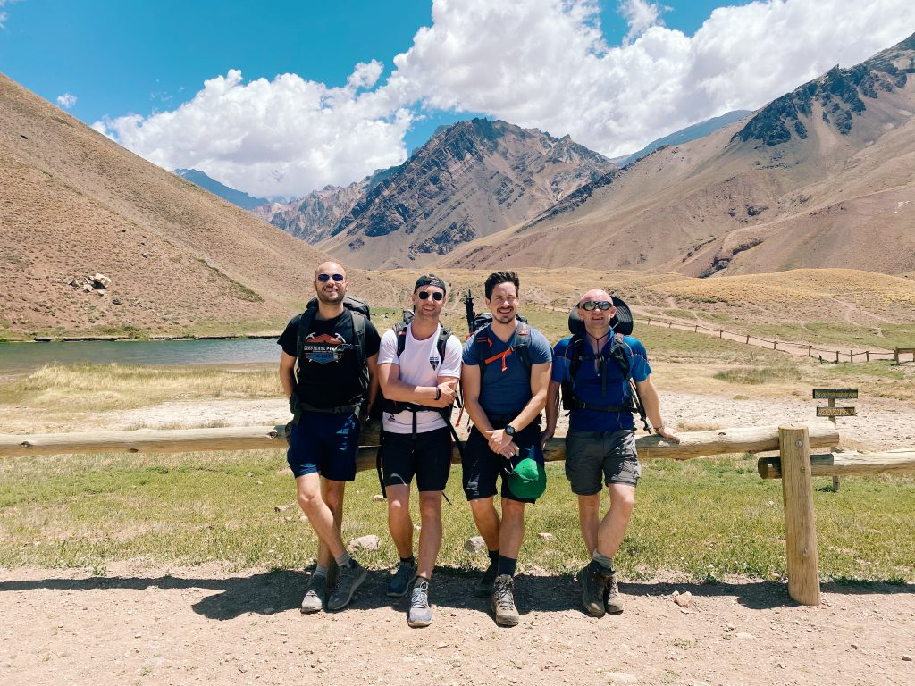Trekking Aconcagua, and so it begins