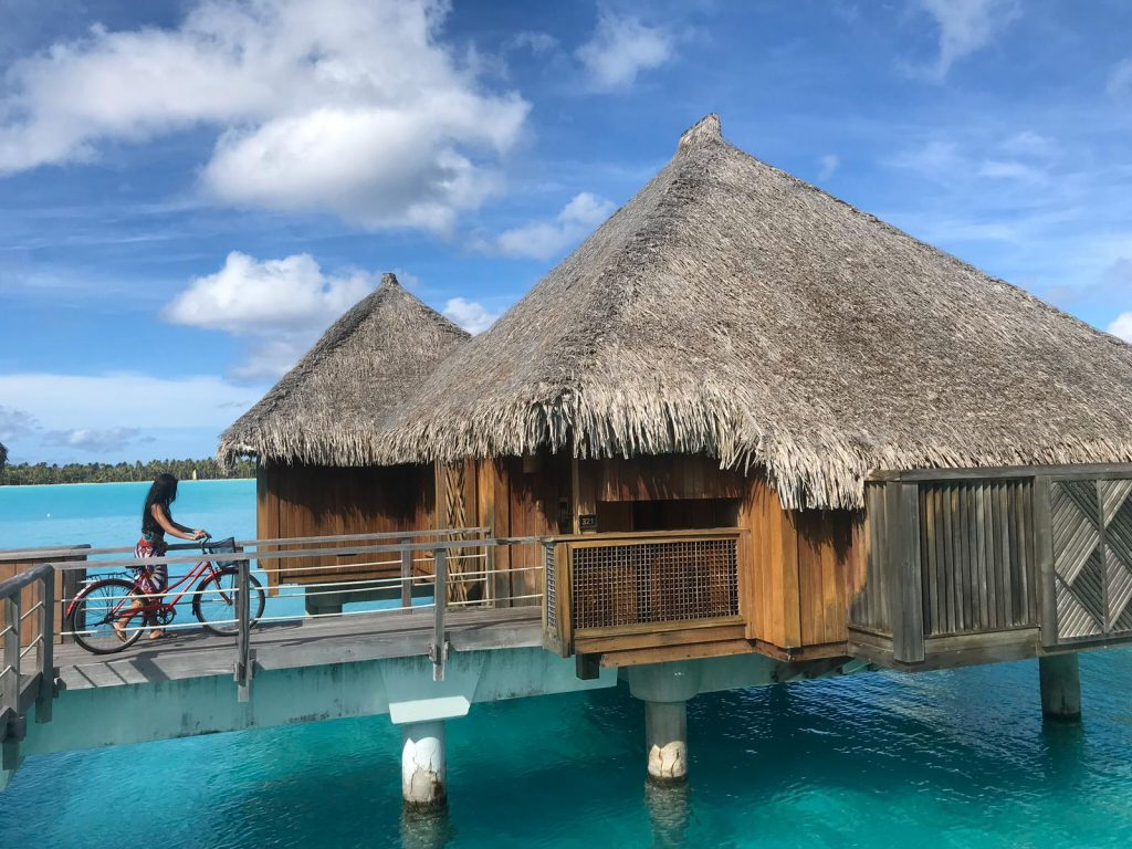 St Regis water bungalow