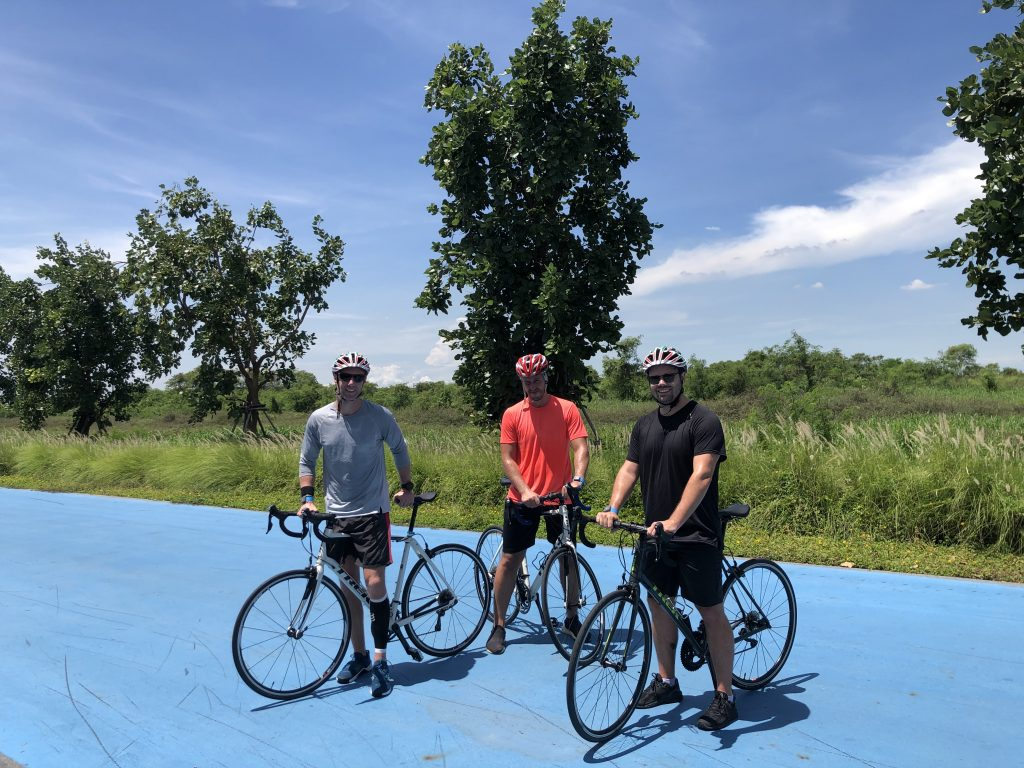 Cycling the length of thailand