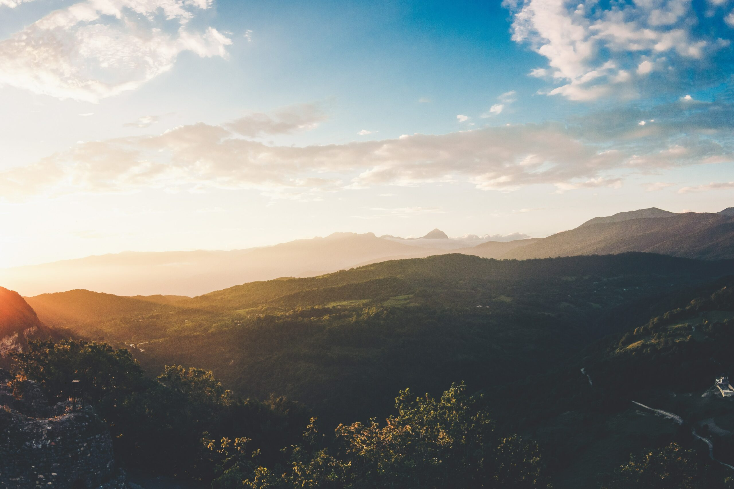 Abkhazia Mountains